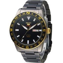 SEIKO Sports 冒險家機械腕錶(4R36-04B0SD) SPR670J1