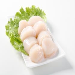 【華得水產】日本鮮甜★特大★生食級干貝4件組(500g/約10-15粒/包)