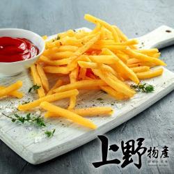 【上野物產】美式金黃酥脆薯條 (500g±10%/包) x10