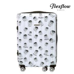 Flexflow 29吋 費氏芙羅貓 可擴充拉鍊 智能測重 防爆拉鍊旅行箱 里爾系列(官方直營)