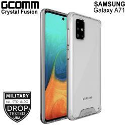 GCOMM Galaxy A71 4G 晶透軍規防摔殼 Crystal Fusion