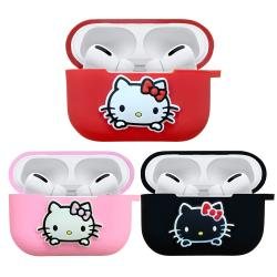 【正版授權】Sanrio三麗鷗 Hello Kitty AirPods Pro專用矽膠保護套