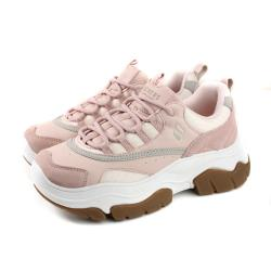 SKECHERS LOS ANGELES 運動鞋 女鞋 粉紅色 74237LTPK no094
