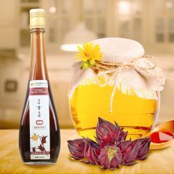 田蜜園養蜂農場-健康養生調理洛神蜂蜜醋