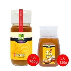彩花蜜台灣鮮採鉑金級蜂蜜加一元加碼組