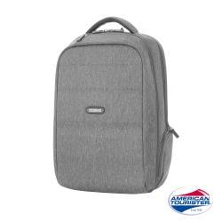 AT美國旅行者 Westlock混色質感功能型筆電後背包(淺灰)-DU0*38001