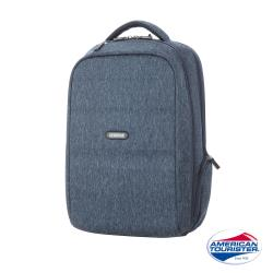 AT美國旅行者 Westlock混色質感功能型筆電後背包(藍)-DU0*41001
