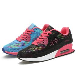 【Alice】(現貨+預購) 歐美繽紛彩色氣墊式美型鞋