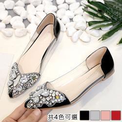 【Alice】(現貨+預購)韓時尚百花盛開平底鞋