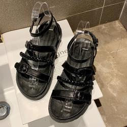 【Alice】(現貨+預購)特惠款優雅女伶平底涼鞋