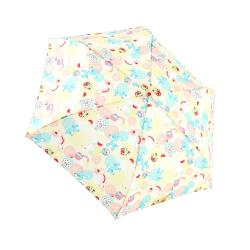 RAINSTORY雨傘-蘑菇小鹿(黃)抗UV手開輕細口紅傘