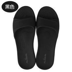 台灣製(親子款)MIT All Clean 環保室內外拖鞋-黑色