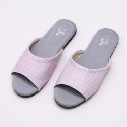 【維諾妮卡】生活品味乳膠室內拖鞋-粉