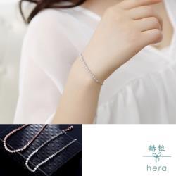 Hera 赫拉 清奢微鑲鋯石手鍊-2色
