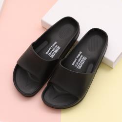 【333家居鞋館】流線活力室外拖鞋-黑