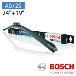 BOSCH 博世 AERO TWIN A072S 24/19 汽車專用軟骨雨刷