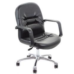 GXG 短背皮面 電腦椅 鋁合金腳 TW-1003 LU