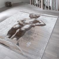 【Ambience】比利時Shiraz 現代地毯--尿尿小童 (120x170cm)