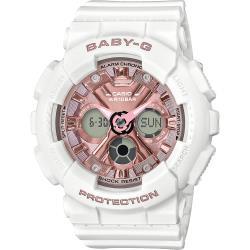 CASIO 卡西歐 BABY-G 人氣手錶/白 BA-130-7A1