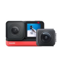 Insta360 One R 雙鏡頭(4K+全景)套裝 360度 運動相機 攝影機(ONER 公司貨)110.4.9前購買送原廠電池
