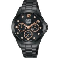 ALBA 雅柏星空璀燦時尚女錶(AP6641X1)36mm/ VD75-X123SD