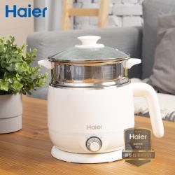 Haier海爾 1.5L雙層防燙多功能美食鍋/料理鍋/快煮鍋 HB-K039MW