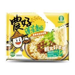 【全國農會】農好蓬萊麵-蔥香肉燥風味(15包入*3箱)