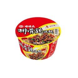 【味丹】味味A排骨雞麵-碗(12入/箱)