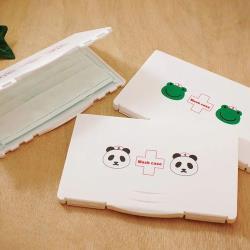 台灣製防汙口罩收納盒3入組