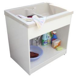 新式特大型開放款塑鋼洗衣槽 水槽 洗手台 1入