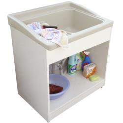 新式大型開放款塑鋼洗衣槽 水槽 洗手台 1入