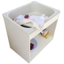 新式中型開放款塑鋼洗衣槽 水槽 洗手台 1入