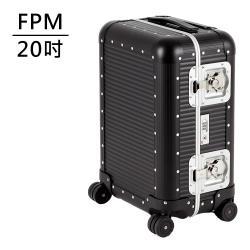 FPM MILANO BANK Caviar Black系列 20吋登機箱 (松露黑) 平輸品