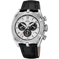JAGUAR積架 EXECUTIVE 極速計時手錶-銀x黑/45.8mm J857/5