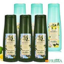 芙莉嘉Frigga橄欖滋養/檸檬控油洗髮精400ml超值六入(任選)