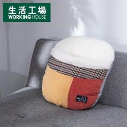 【生活工場】暖質絨心暖腳套