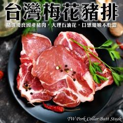 (買5送5)海肉管家-台灣嚴選嫩肩豬排(10片/每片約100g±10%)