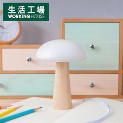 【生活工場】蘑菇森林擺飾 白 大
