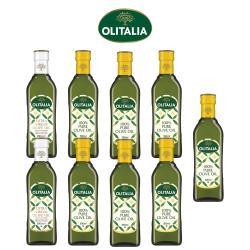 奧利塔特級初榨橄欖油500ml*2罐+奧利塔純橄欖油500ml*7罐