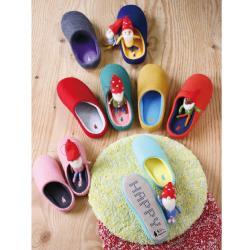 《Traveler Station》日本 SPICE 羊毛氈風 室內拖鞋 L尺寸 保暖鞋 4色可選