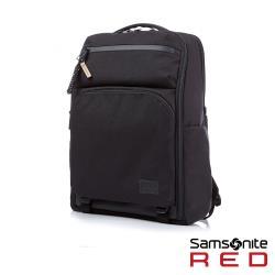 Samsonite RED ONSE 尼龍防盜扣環兩用筆電後背包L 15.6吋(黑)-HE0*09001