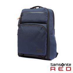 Samsonite RED ONSE 尼龍防盜扣環兩用筆電後背包L 15.6吋(海軍藍)-HE0*41001
