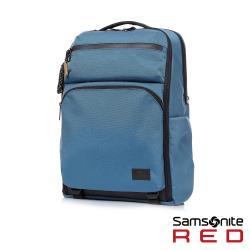 Samsonite RED ONSE 尼龍防盜扣環兩用筆電後背包L 15.6吋(藍)-HE0*21001