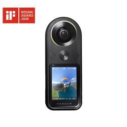 QooCam 8K 360° 全景相機攝影機  + 原廠自拍桿 + 原廠三腳架  / KanDao 看到科技