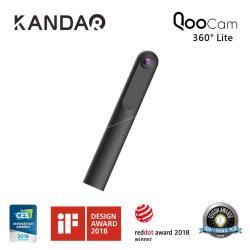 QooCam Lite  4K 360° 全景相機攝影機 + 原廠自拍桿 + 原廠三腳架 / KANDAO看到科技