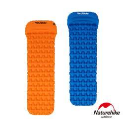 Naturehike FC-12輕量級便攜菱紋帶枕單人加厚睡墊 防潮墊 帶枕款
