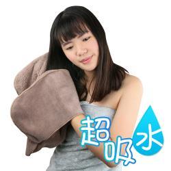 Yenzch 手套式速乾吸水巾(咖啡色 2入) RM-11006
