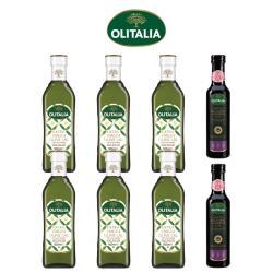 奧利塔特級初榨橄欖油500ml*6罐+奧利塔摩典那巴薩米克醋250ml*2罐