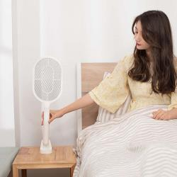 SB|獨家貼牆手柄三層大網面電蚊拍