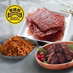 【黑橋牌】指定大包肉乾肉酥6件組